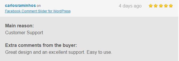 Facebook Comment Slider for WordPress - 5