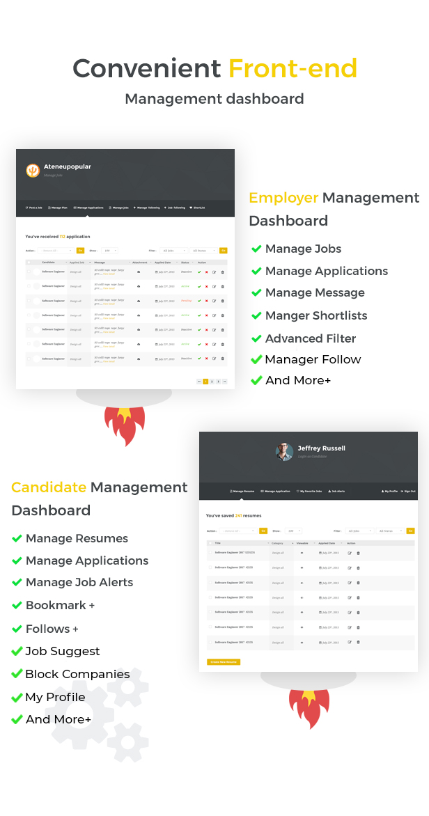 Jobmonster - Job Board WordPress Theme - 8
