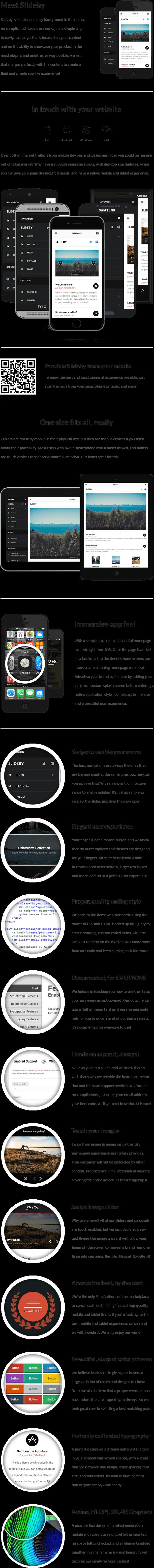 Slideby Mobile   Mobile Template - 8