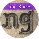 Comic Book - Text Styles - 23