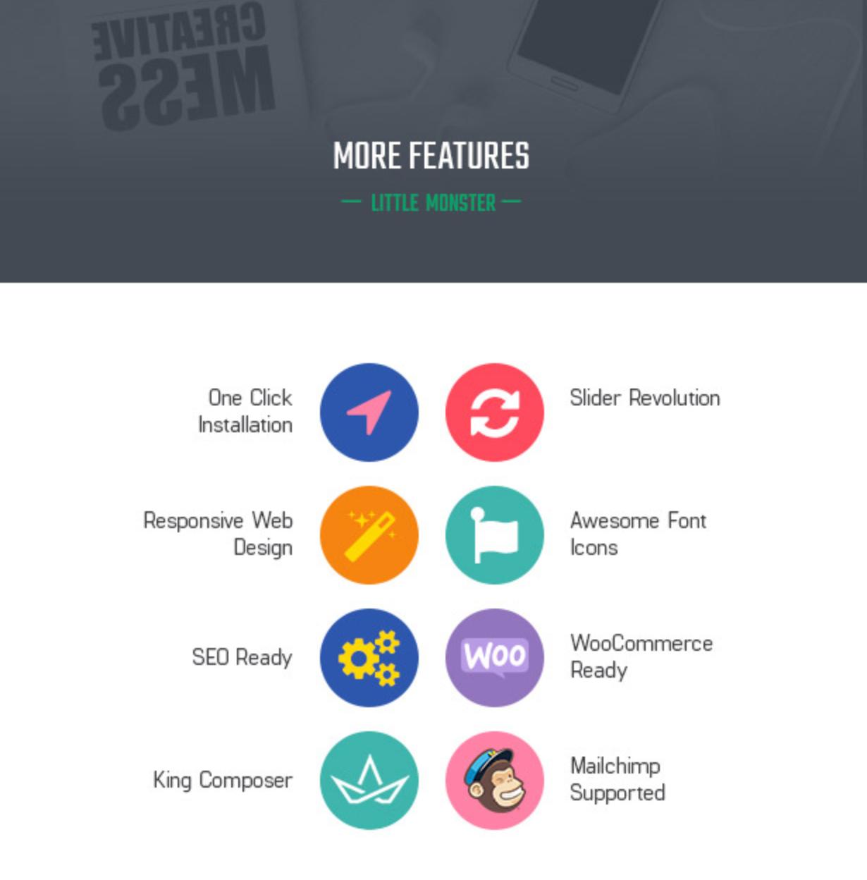 Littlemonsters Powerful Plugins Sport Shop Woocommerce WordPress Themes