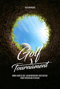 Golf Tournament Flyer '14
