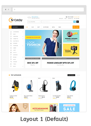 Download Catchy - Multipurpose OpenCart 3 & 2 Theme Nulled | Filemea