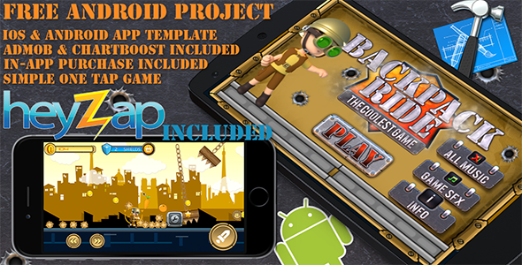 Rabbit Forest - iOS - Android - iAP + ADMOB + Leaderboards + Chartboost Buildbox - 6