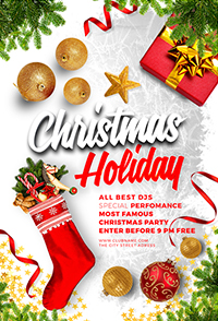 Christmas Holiday Flyer V3 - 11