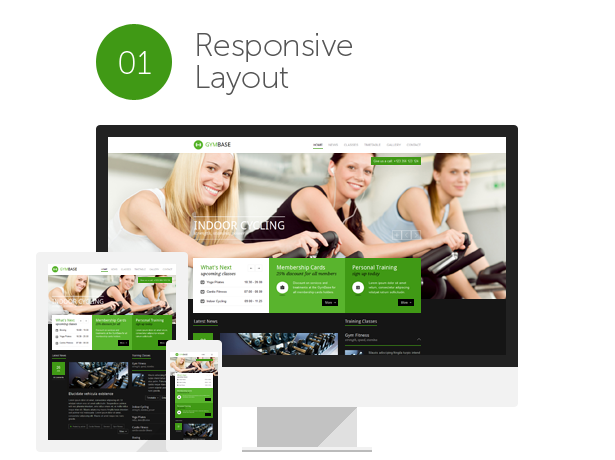 crossfit, boxing, training, aerobic, gym and fitness HTML Template