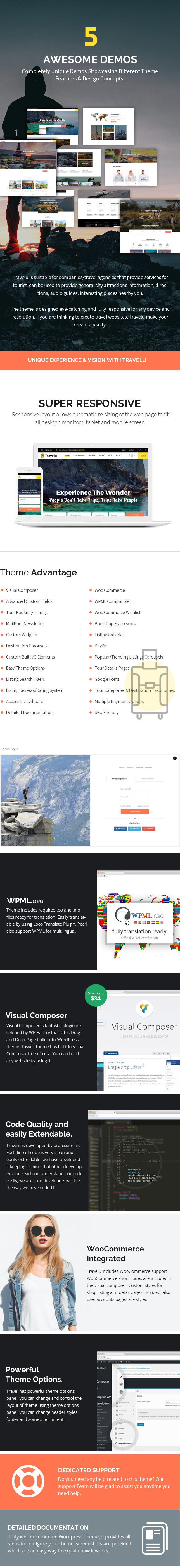 Efora - Travel, Tour Booking and Travel Agency WordPress Theme - 5