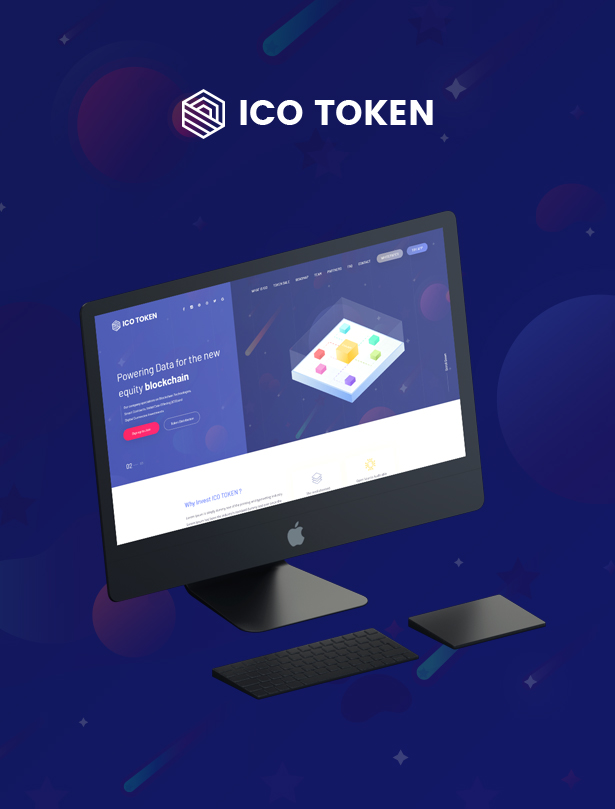 ITok - ICO and Cryptocurrency WordPress Theme - 1