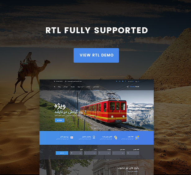 Travel Tour - Tour Booking, Travel Booking WordPress Theme - 19
