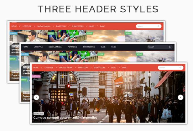 Style - Header styles