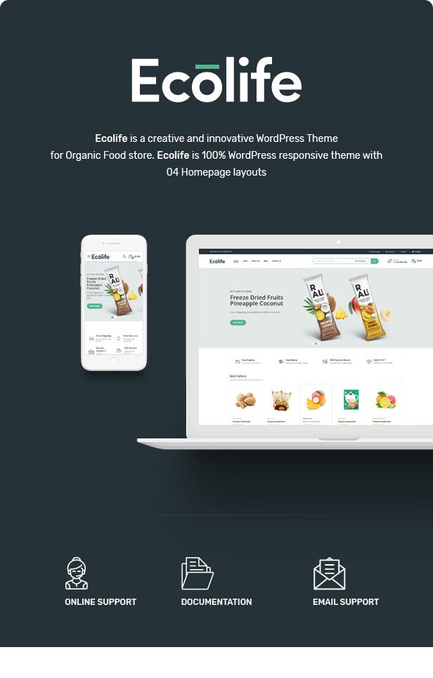 Ecolife v1.0.1-有机WooCommerce WordPress主题插图