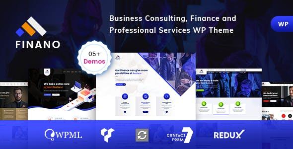 Consulting finance Wordpress