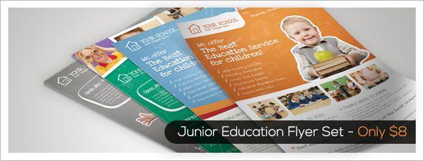 Premium Education Brochure Tri-fold & Bi-fold - 1