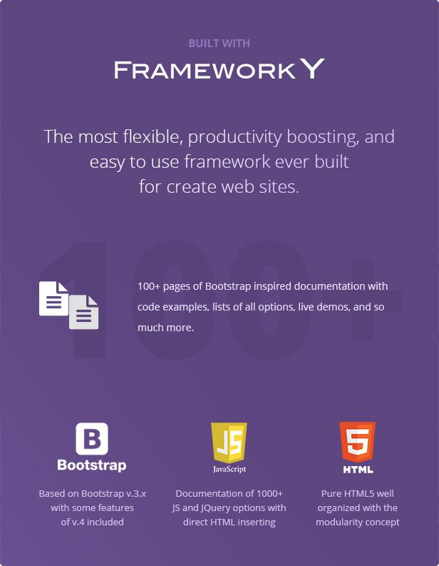 FullPage -  Fullscreen Multi Concept HTML5 Template - 6