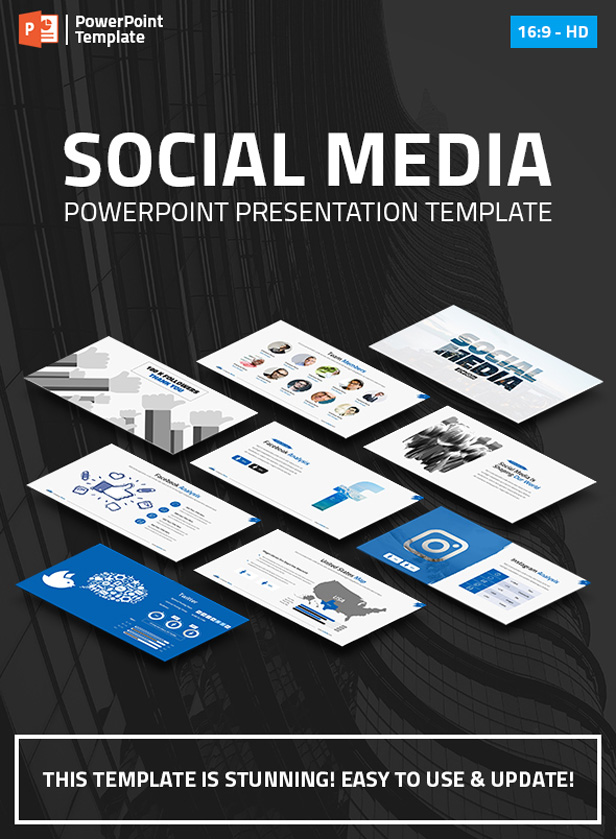 Social Media Marketing PPT Pitch Deck