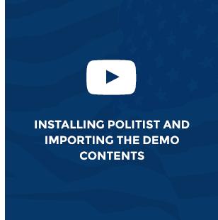 Political WordPress Theme - Political Candidate