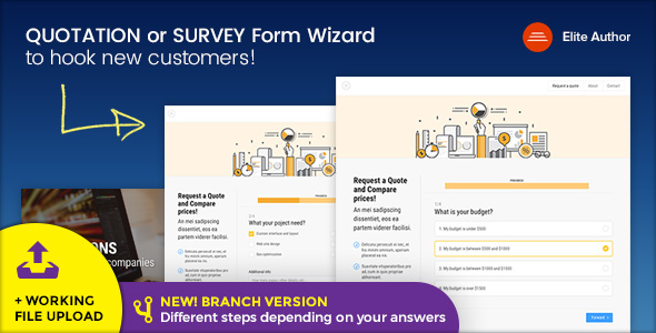 REVIEWER - Rating and Review Wizard HTML Template - 4