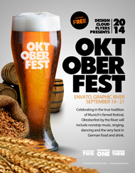 Design Cloud: Oktoberfest Event Flyer Template