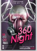 360 Party Flyer Template