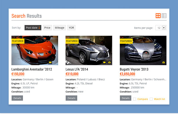 Car Dealer Automotive Wordpress Theme Responsive By Thememakers
