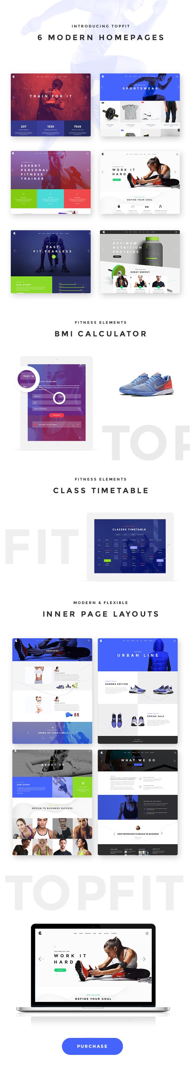 TopFit - Fitness and Gym Theme - 1