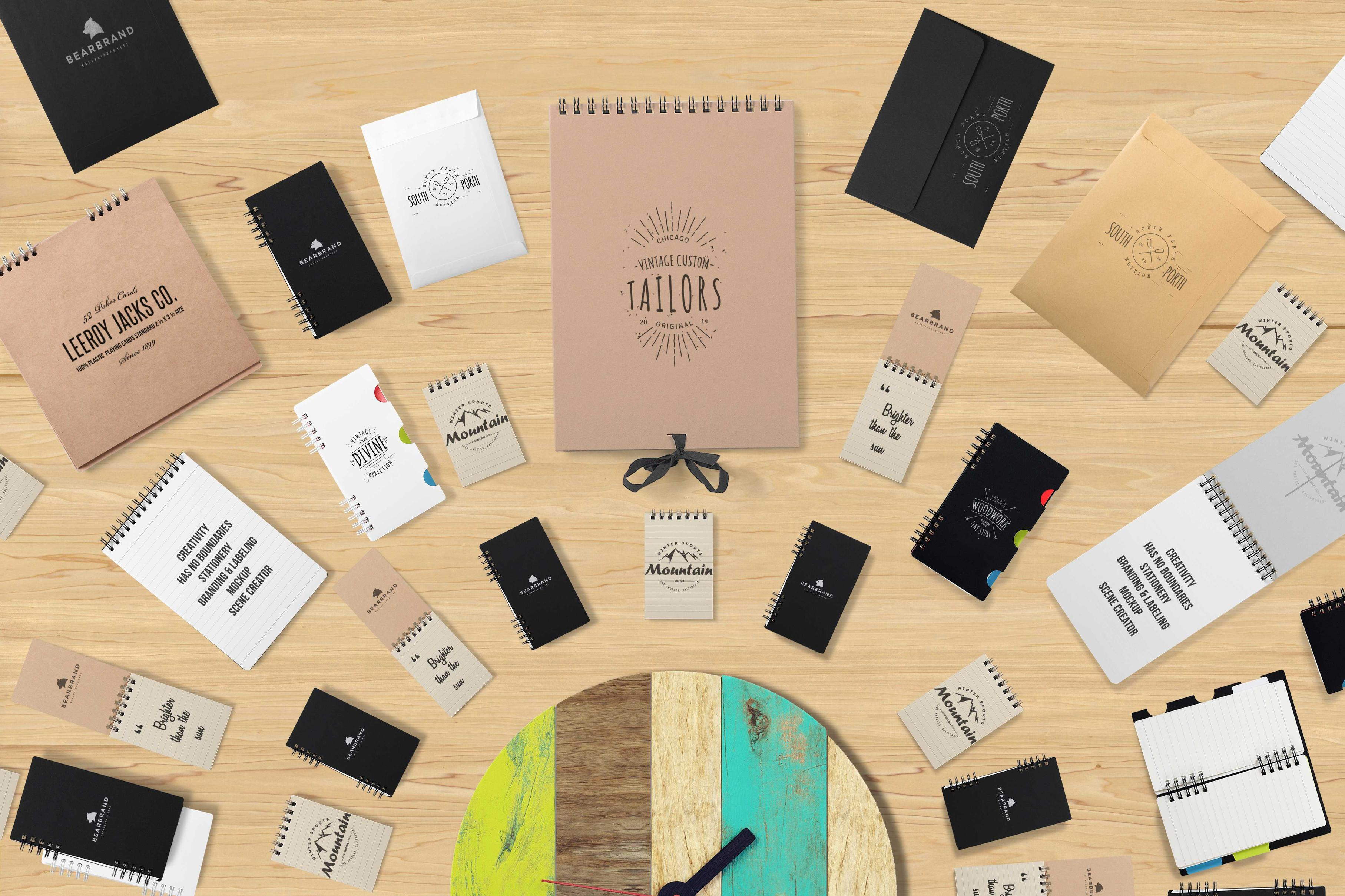 Branding & Labeling Scene Creator