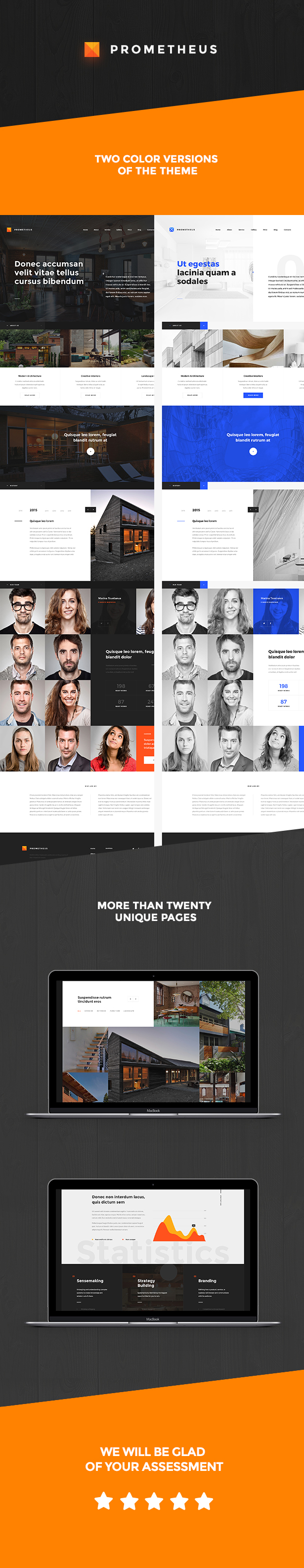 Prometheus – Multipurpose HTML Template by Templines | ThemeForest