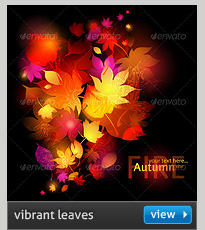 halloween - abstract autumn leaves background