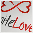 Infinite love logo template