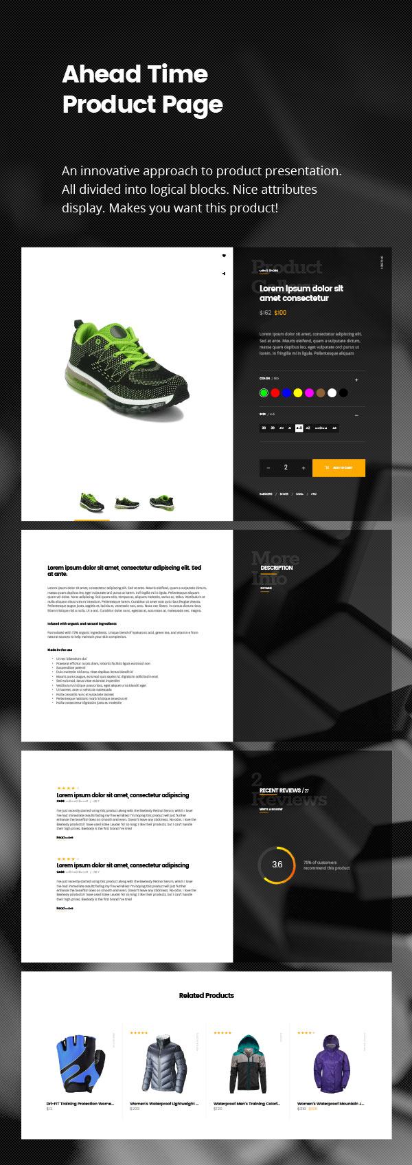 joli-sport - Product Page