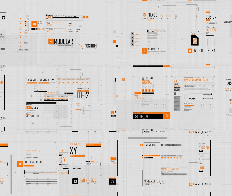 HUD Typography - 2