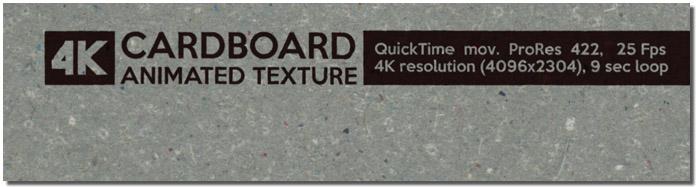 Cardboard Animated Texture