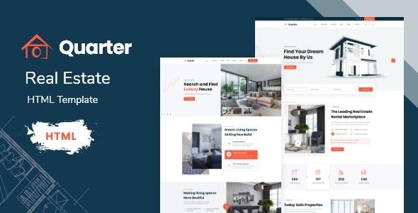 Quarter - Real Estate HTML Template