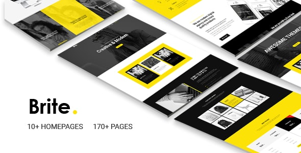 Brite | Responsive MultiPurpose HTML5 Website Template | Business - Business Corporate
