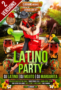 Mexican Party Flyer - 15