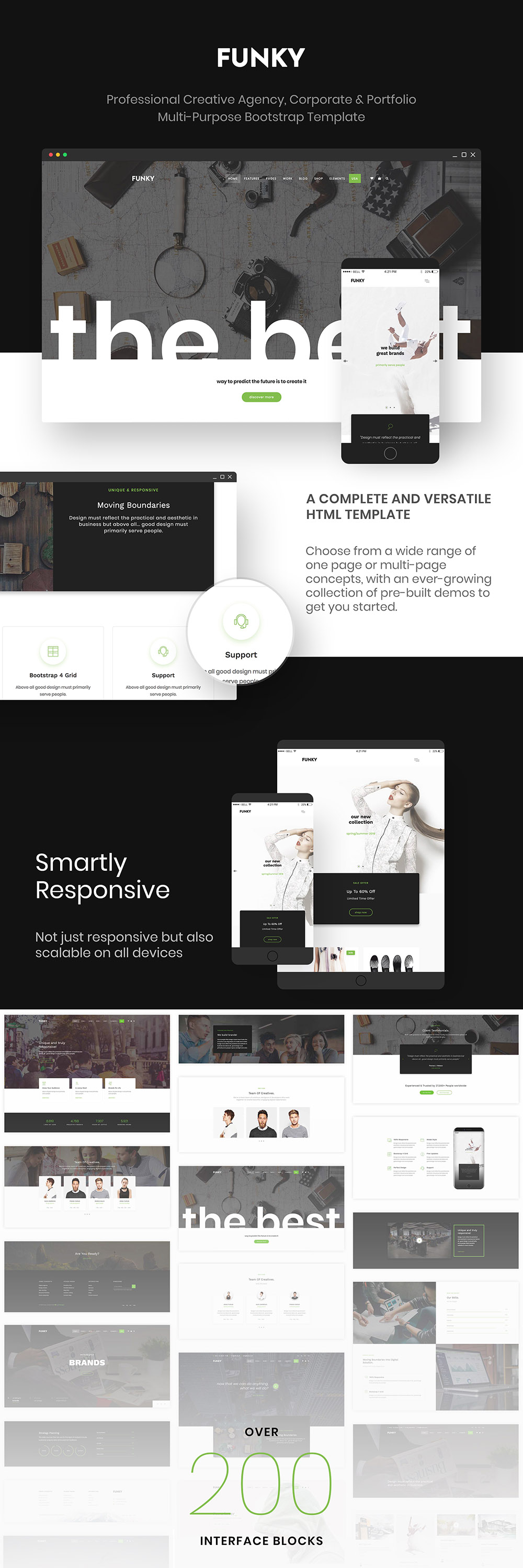 Funky - Professional Creative Multi-Purpose Template by IG_design ...