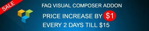 FAQ Visual Composer Sale
