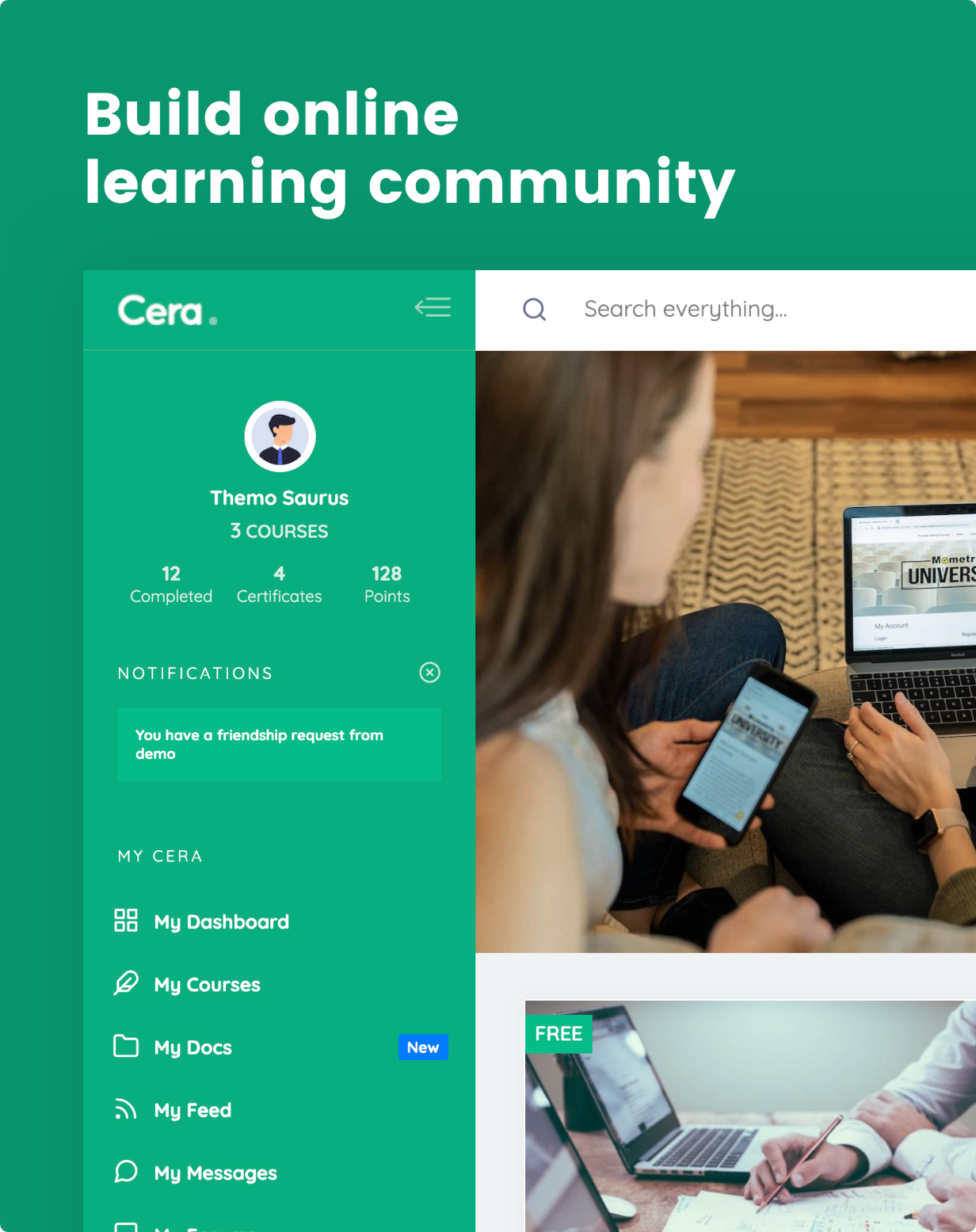 Cera - Intranet & Community Theme - 14