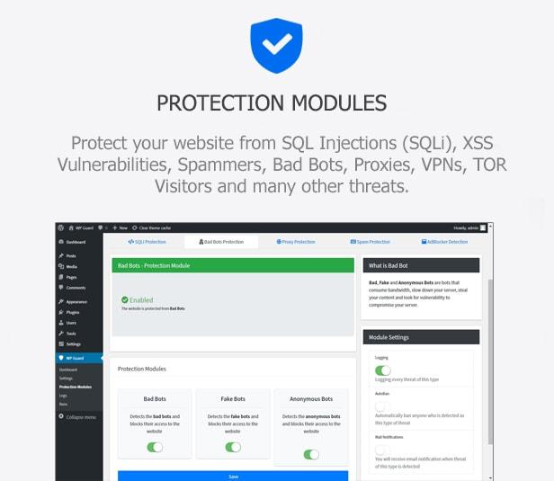WP Guard - Security, Firewall & Anti-Spam plugin for WordPress - 2