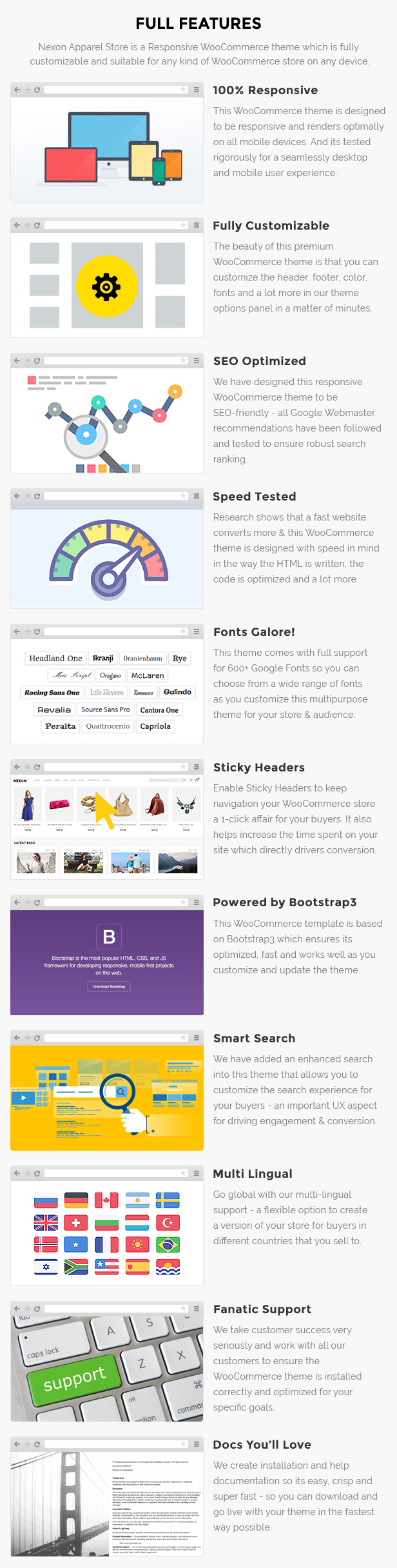 Apparel store wp theme
