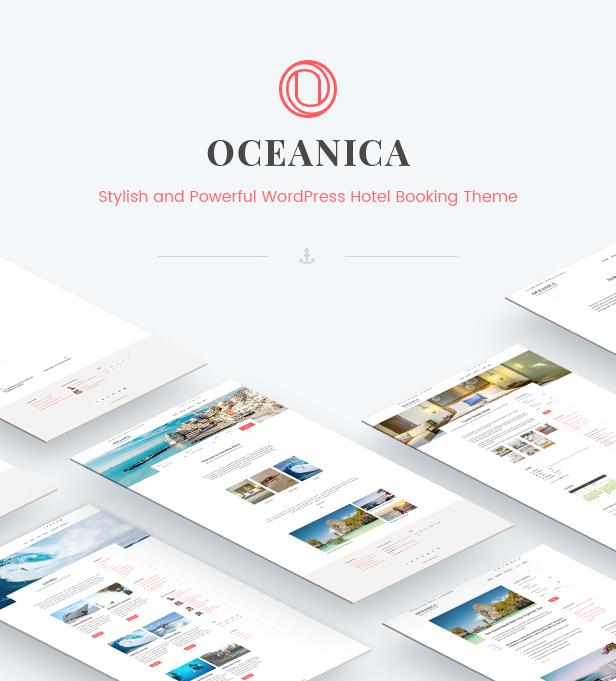 WordPress Hotel Theme - Oceanica - 2
