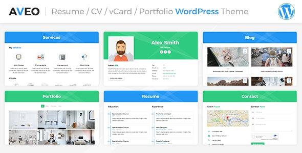 CV, Resume, vCard & Portfolio - Portfolio Creative