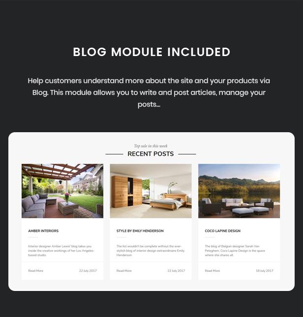 Nevara - Furniture Theme for WooCommerce WordPress 43