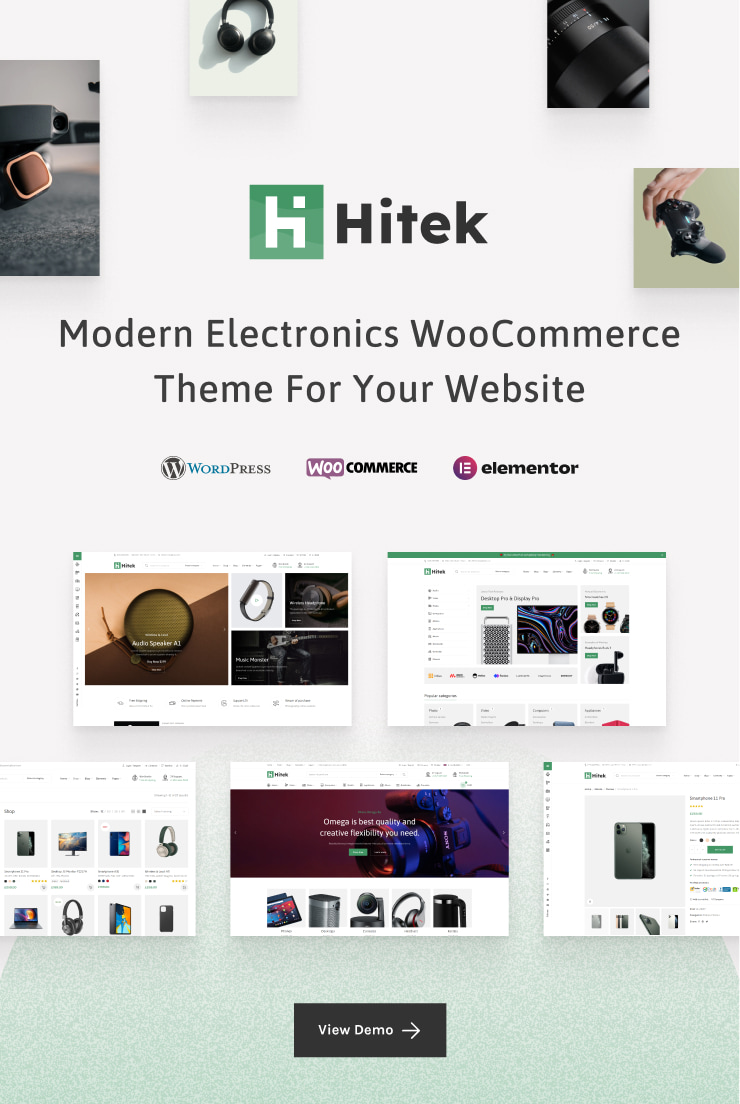 Hitek Electronics WooCommerce Premium themeforest WordPress Theme