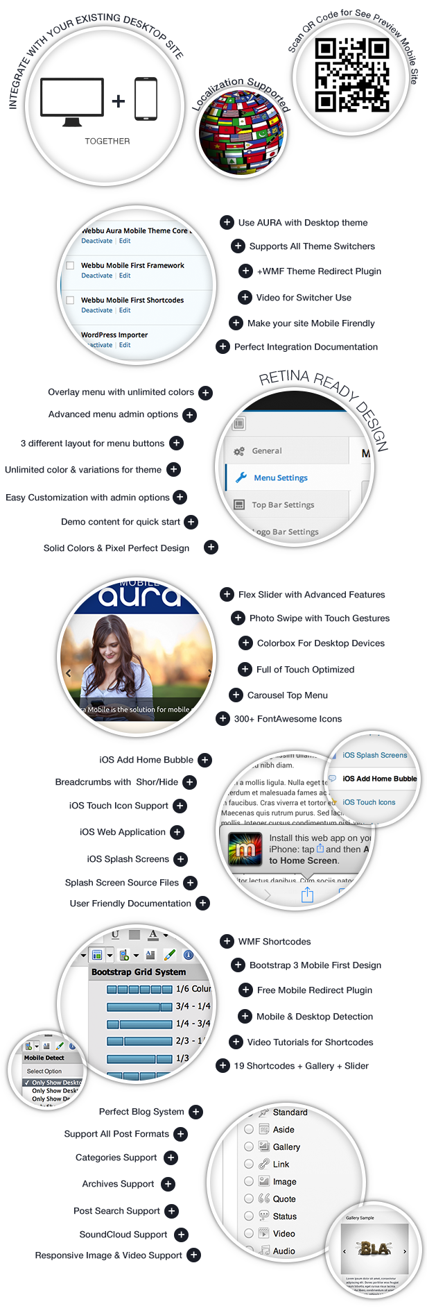 Aura Premium Mobile Theme - 2