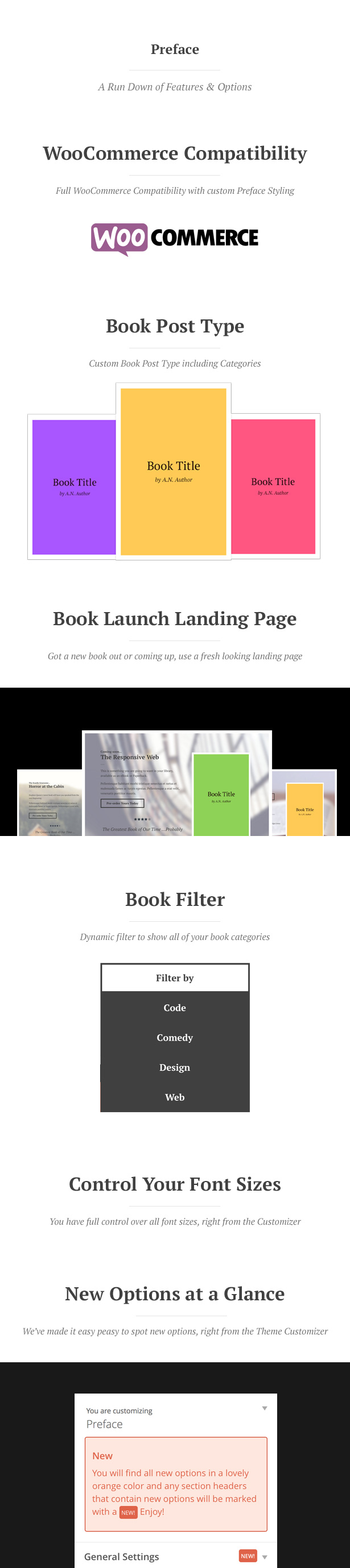 Preface: A WordPress Theme for Authors - 1