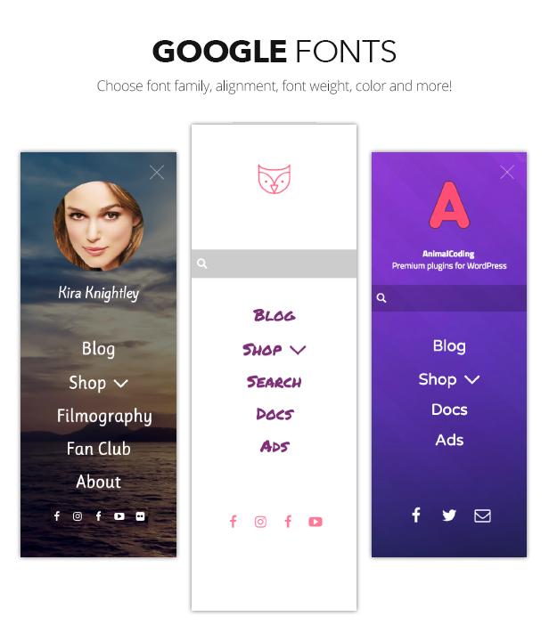 Owl Menu: Multipurpose WordPress Menu Plugin - 8