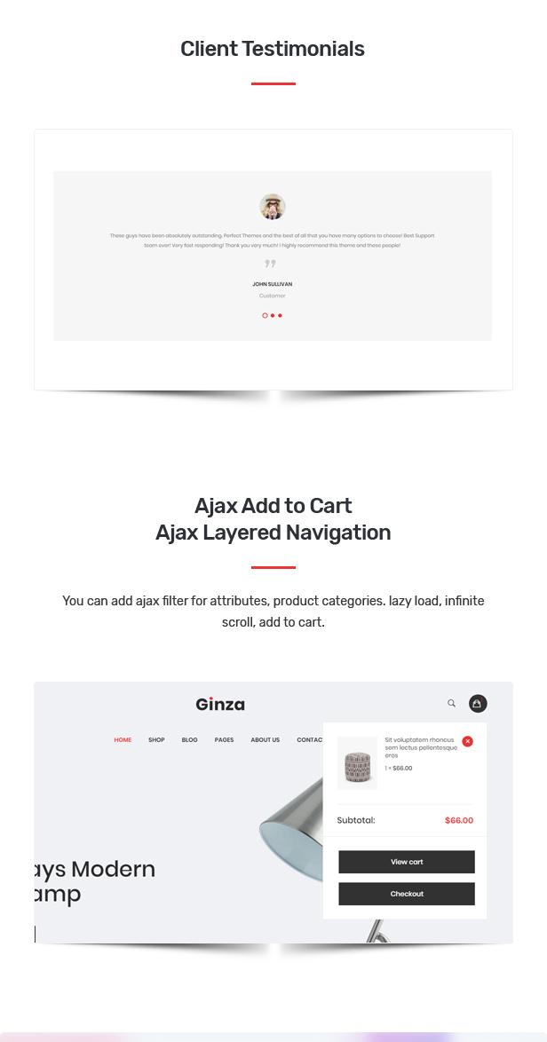 Ginza - Furniture Theme for WooCommerce WordPress 28