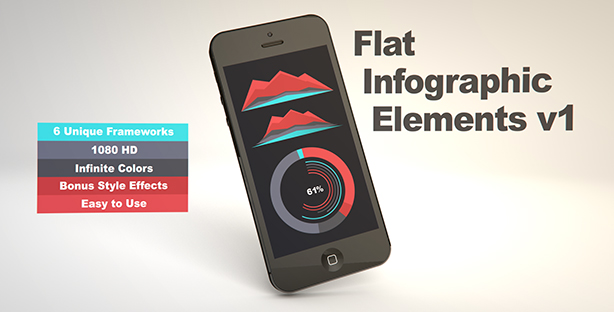 Flat Infographic Elements V1 - 2