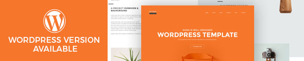 Kana - Creative Agency HTML5 Template - 1